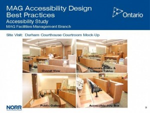 Ontario Ministry of the Attorney General: Courthouse Accessibility Study