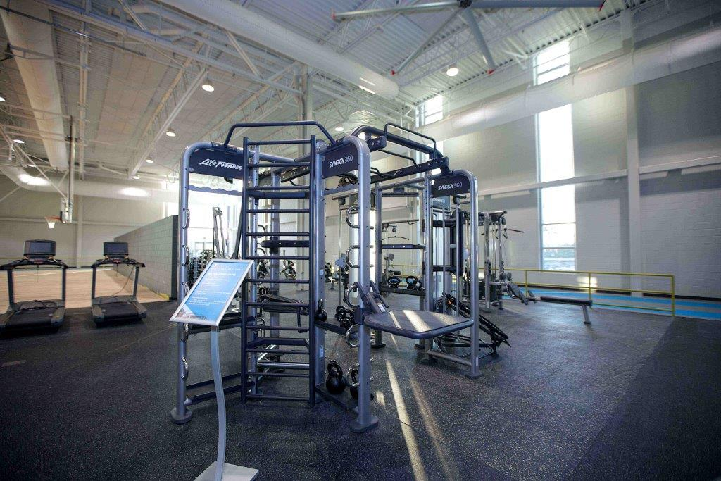 View of Adaptable Fitness Equipment inside Mary Free Bed YMCA (Source: UB News Centre)