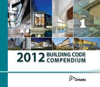Coverpage for 2012 Ontario Building Code Compendium