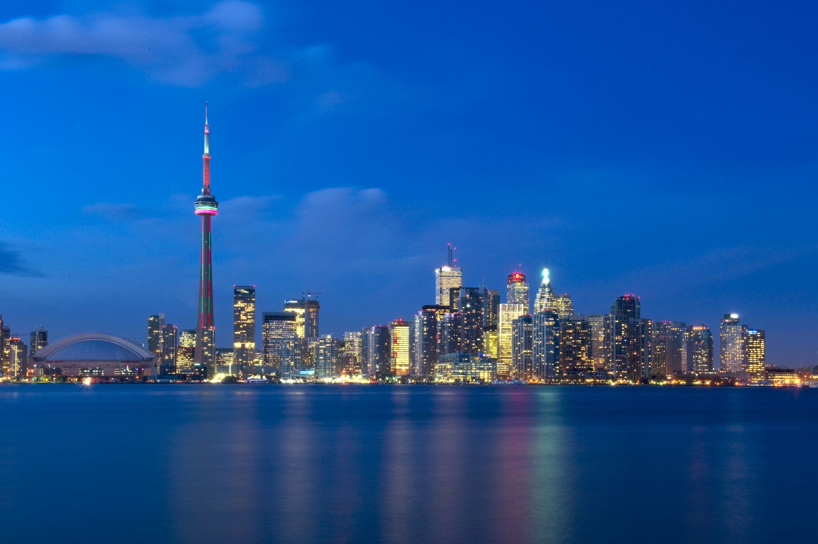 Image of the City of Toronto at Night (Source: City of Toronto)