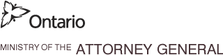 Ontario Ministry of the Attorney General Logo