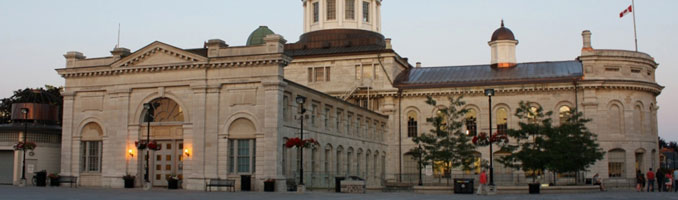 Exterior view of City of Kingston's City Hall (Source: City of Kingston).