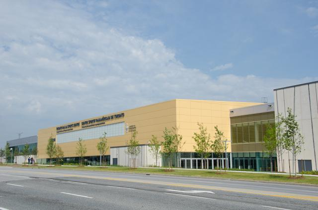 The Toronto Pan Am Sports Centre (Photo by Stephanie Calvet)